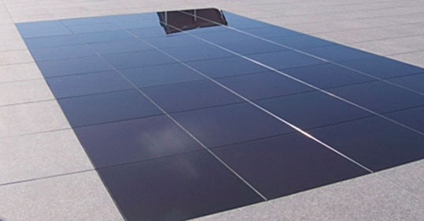 suelo fotovoltaico transitable