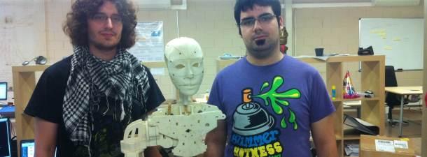 Sergio, Adrián y el androide Arturito (R2D2), Talentum Startups en BitBrain