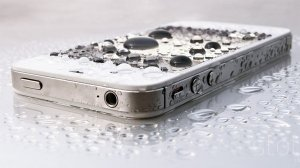 teléfono impermeable