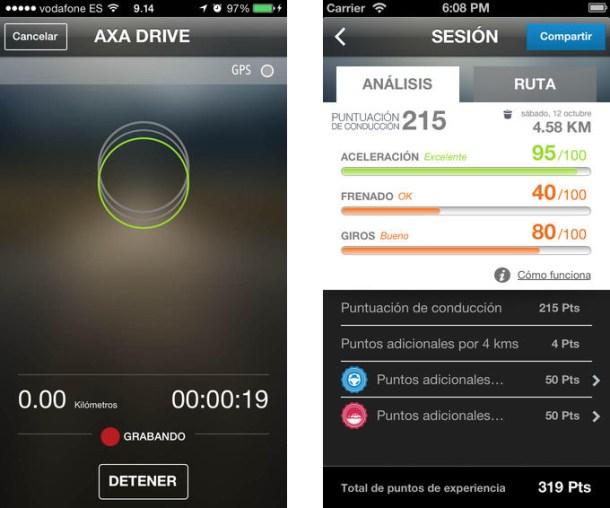 aplicación para conducir mejor