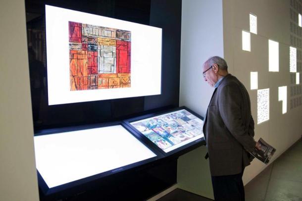 sala de arte tecnológica
