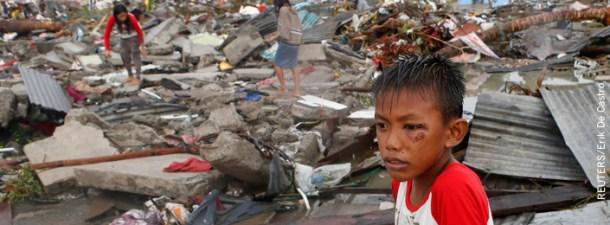 Colabora con la campaña solidaria de ayuda a Filipinas