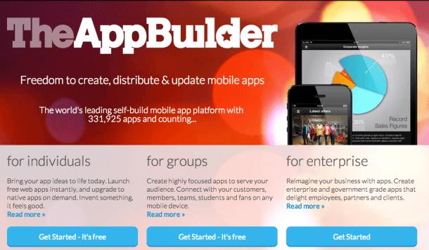 Crear apps sin saber programar