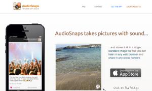 fotografías con audio