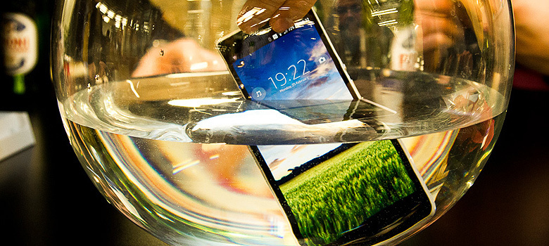 Del arroz al nanocoating: haz tu teléfono impermeable