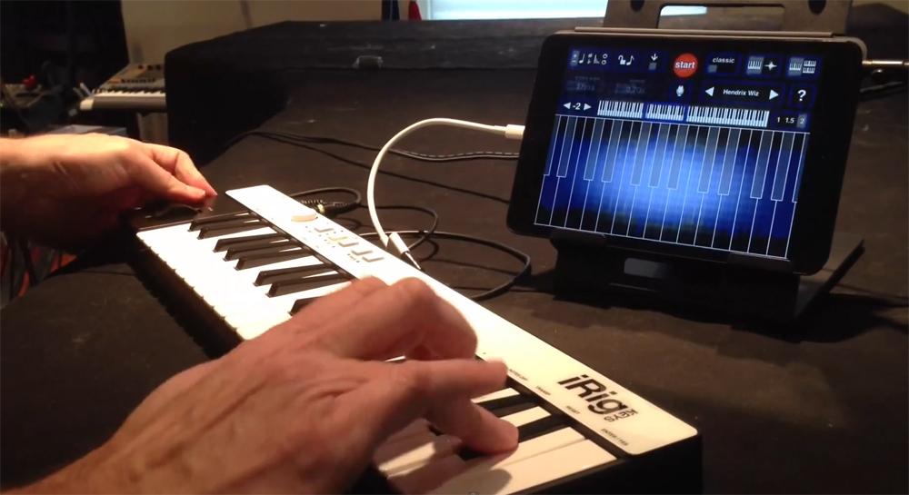 Y la música se hizo tablet