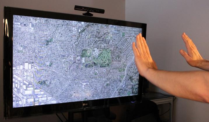 4 ejemplos de interfaz gestual