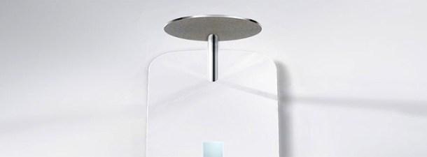 Una ducha que recicla la mayor parte del agua utilizada
