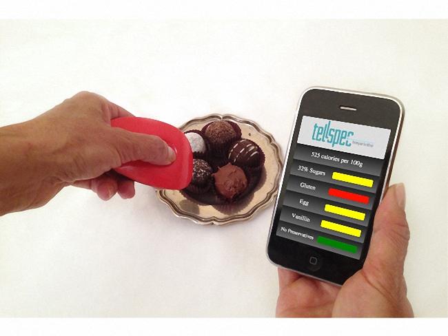 ¿Ciencia-ficción? Este gadget reconoce lo que vas a comer y lo detalla en tu smartphone
