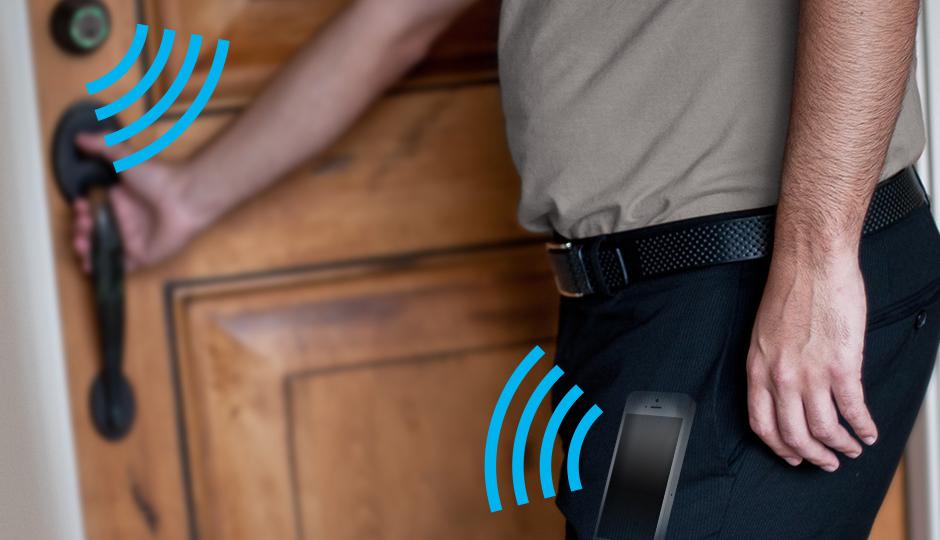 Kwikset Kevo, el gadget para abrir la puerta desde tu smartphone sin sacarlo del bolsillo