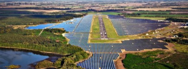 Neuhardenberg, Germany's enormous solar photovoltaic power project