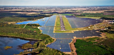 Neuhardenberg, Germany's enormous solar photovoltaic power project