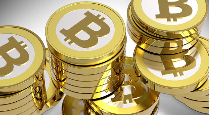 electronic payment with Bitcoin