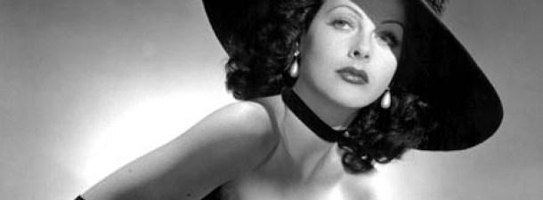 Hedy Lamarr, actriz de Hollywood e ingeniera militar