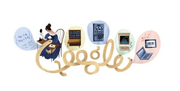 Homenaje de Google a Ada Lovelace