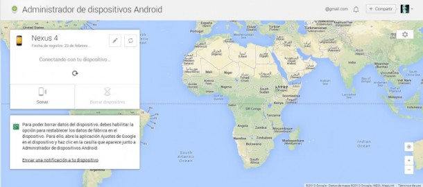 Android Device Manager - seguridad