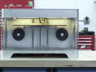 3D carbon fibre printer