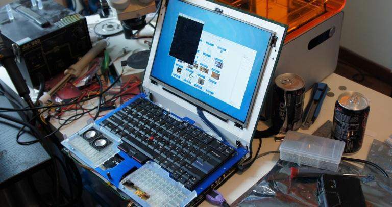 Construyendo un portátil open source