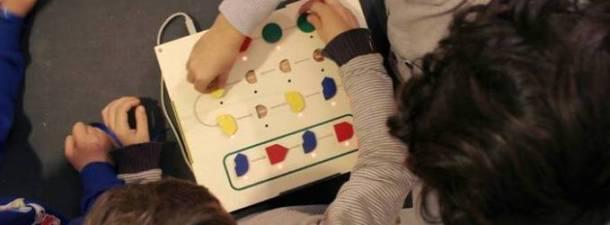 Primo, a toy to teach kids to program