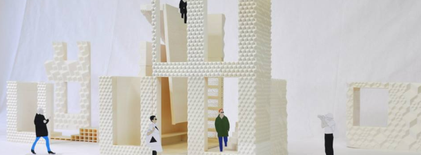 Amsterdam builds a house with a 3D printer