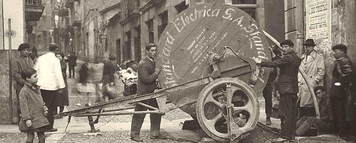 La historia gráfica de Telefónica a través de Historypin