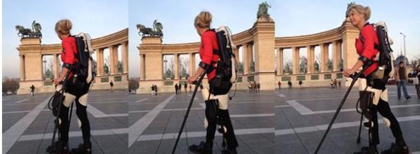 Un exoesqueleto impreso en 3D permite a una mujer volver a andar