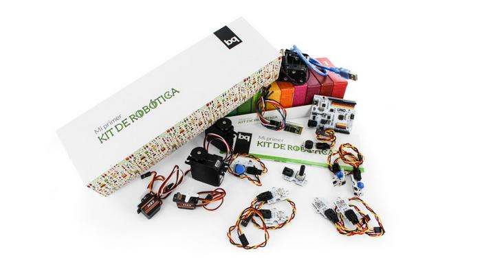 Learning to program starting in childhood: the bq robotics kit
