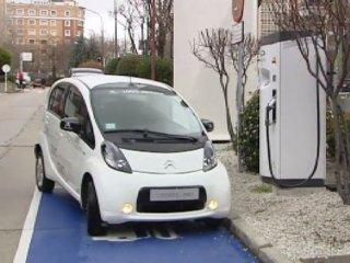 metrolinera para vehículos eléctricos
