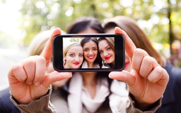 Selfies chicas móvil