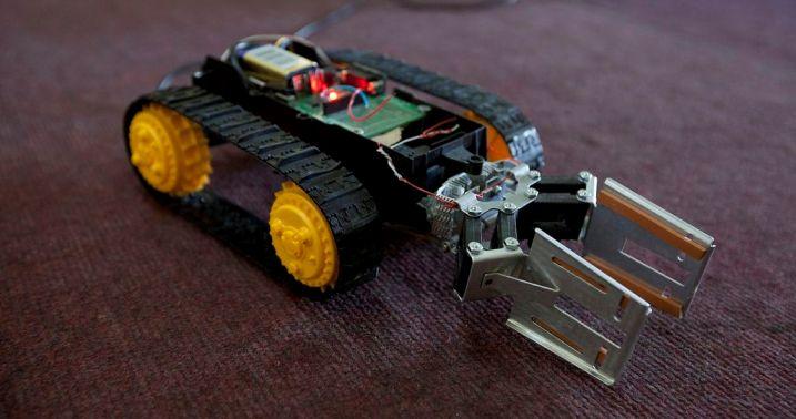 Construyen un robot con control remoto para salvar vidas en Siria