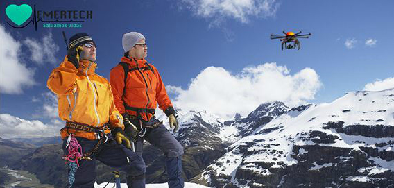 Emertech, drones y wearable computing para labores de rescate