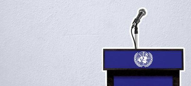 Toma la palabra en Naciones Unidas Toma la palabra en Naciones Unidas