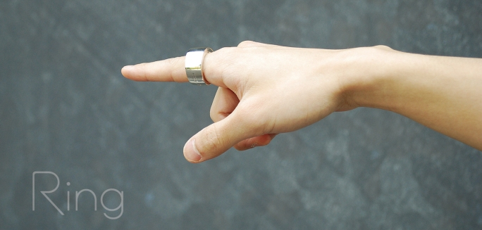 A ring that lets you control your smartphone with 3D gestures