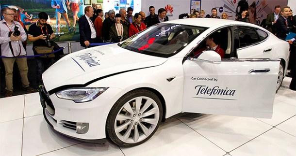 Telefonica acuerdo Tesla