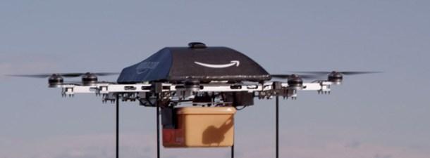 La nueva patente de Amazon lleva el envío por drones mucho más lejos