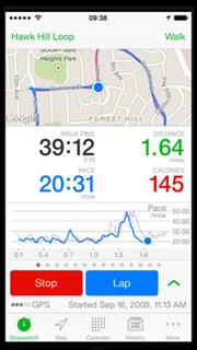 Apps deporte Walkmeter