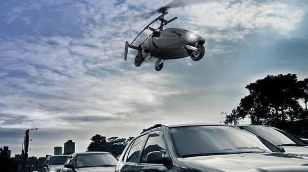 coches voladores unipersonales