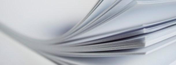 Fabrican papel impermeable gracias a unas proteínas naturales