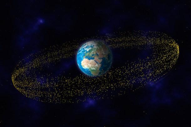 plan para eliminar la basura espacial
