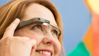 Vestidos imposibles Google Glass