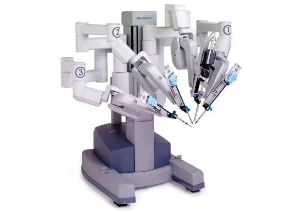 Robot quirúrgico Da Vinci