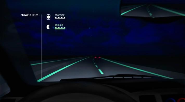 carreteras luminosas