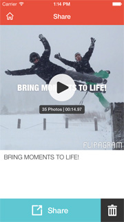Flipagram app video Instagram