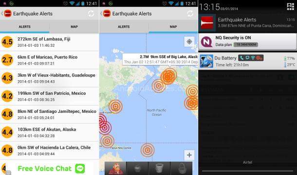 aplicaciones para predecir terremotos