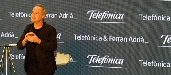 Ferran Adrià, comprometido con la innovación y la creatividad