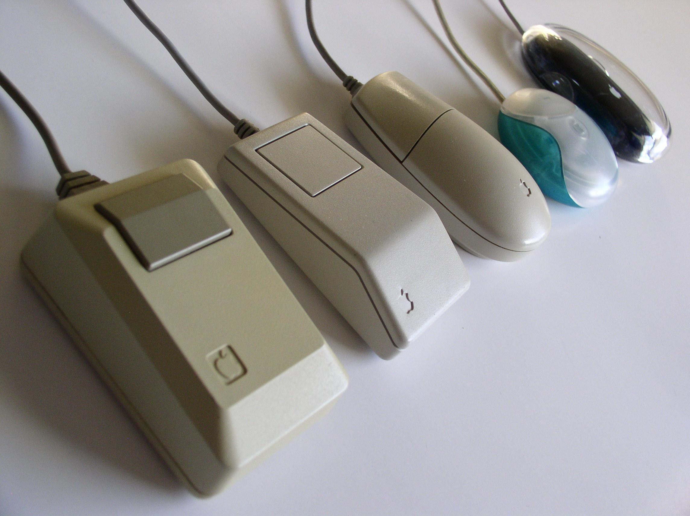 ¿Cuánto hace que no usas el ratón de un ordenador?