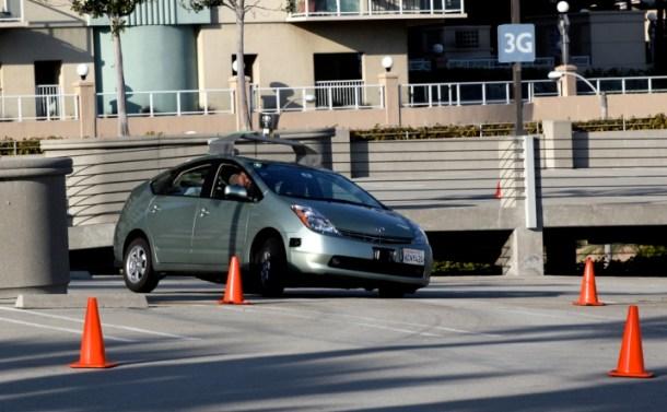 pruebas con coches autonomos