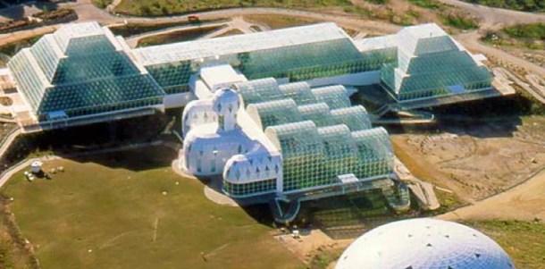 Biosphere 2 - instalaciones