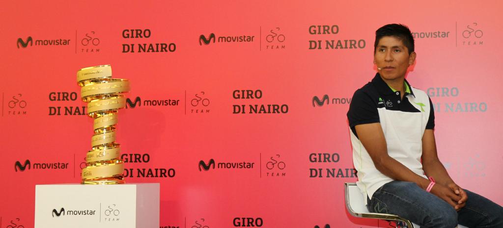 """Nairo Quintana: """"por mi cabeza no pasa la palabra presión, sino compromiso"""""""