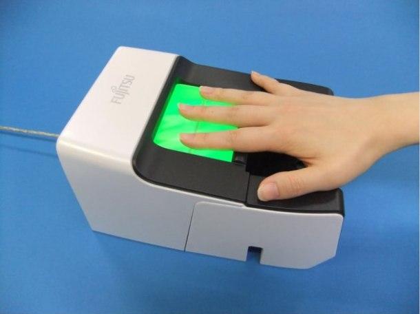 biometría de las venas de la mano